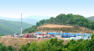 页岩气评价井大包项目