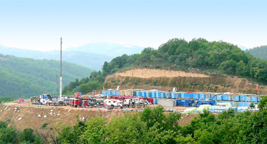 Shale Gas Well Service Project for Schlumberger