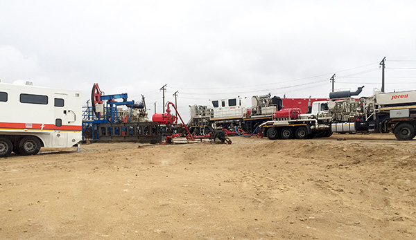 2250 HP Frac Spread in Kazakhstan