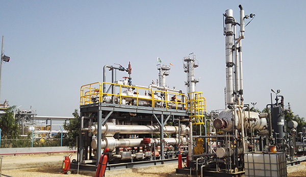 Gas Processing Facility Upgradation Project In Pakistan