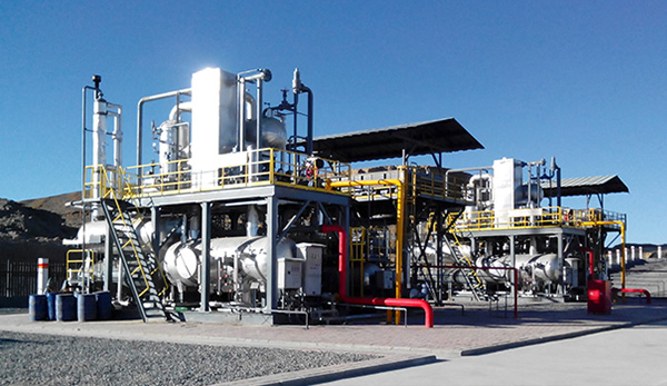 Natural Gas Treatment for Baxian Combined Stations