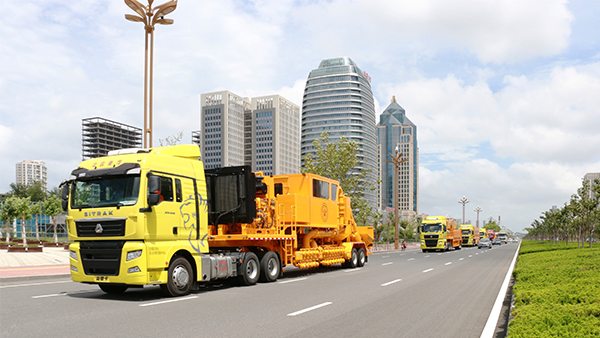 Chinese Frac Spread Marched into Middle East Market for the