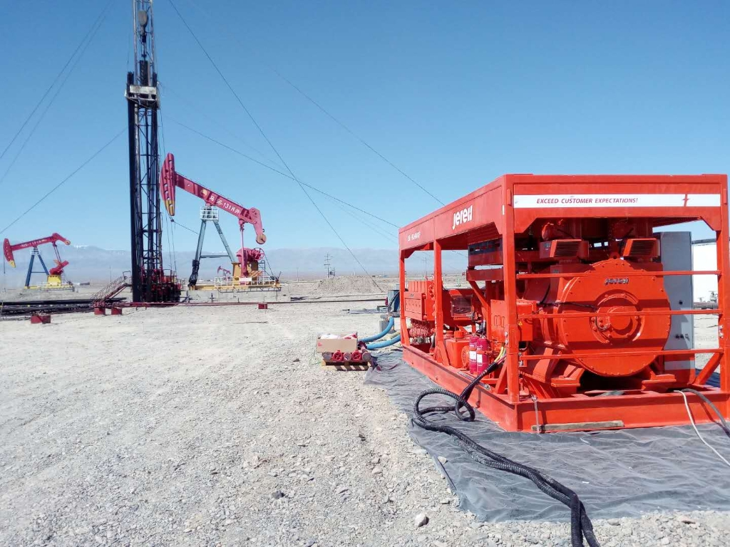 Electric drive fracturing equipment solution_Jereh Group